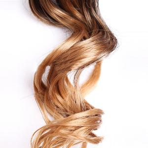 6PCS Deep Wave Ombre Colormix Synthetic Hair Wefts -