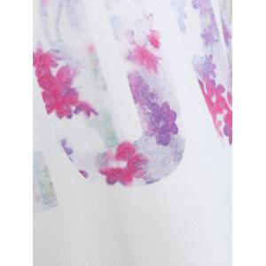 Summer Love Graphic Tank Top - Blanc S