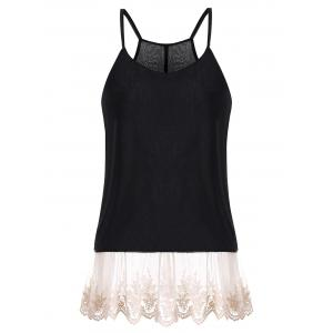 Laced Chiffon Camis