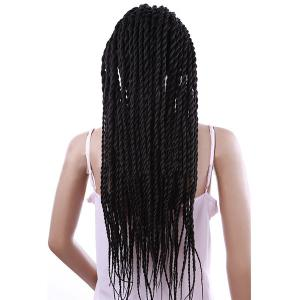 Long Senegal Twists Braids Lace Front Synthetic Wig -