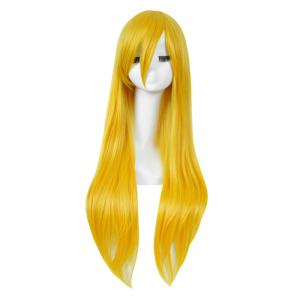 Long Side Bang Straight My Little Pony Lily Cosplay Anime Wig -