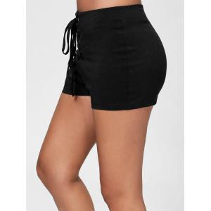 Short Moulant à Lacets -
