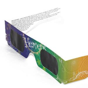 Solar Eclipse Shades UV Protection Glasses - YELLOW + GREEN