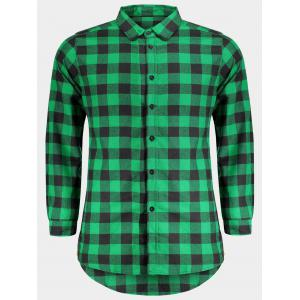 Checked Shirt For Man