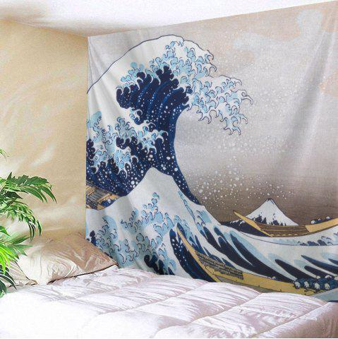 Surge Beach Throw Fabric Wall Hanging Tapestry - Colormix - W59 Inch * L79 Inch
