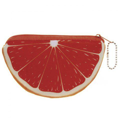 Outfits Fruit Print Plush Coin Purse - JACINTH  Mobile
