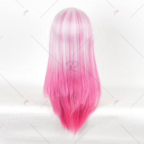 Store Long Colormix Straight Anime Guilty Crown Inori Yuzuriha Cosplay Wig - PINK  Mobile