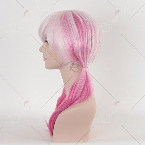 Shops Long Colormix Straight Anime Guilty Crown Inori Yuzuriha Cosplay Wig - PINK  Mobile
