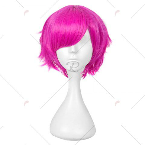 Outfit Short Layered Straight Anime Heart No kuni No Alice Boris Cosplay Wig - RED  Mobile