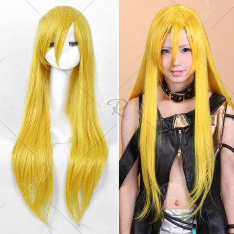 Shops Long Side Bang Straight My Little Pony Lily Cosplay Anime Wig - YELLOW  Mobile