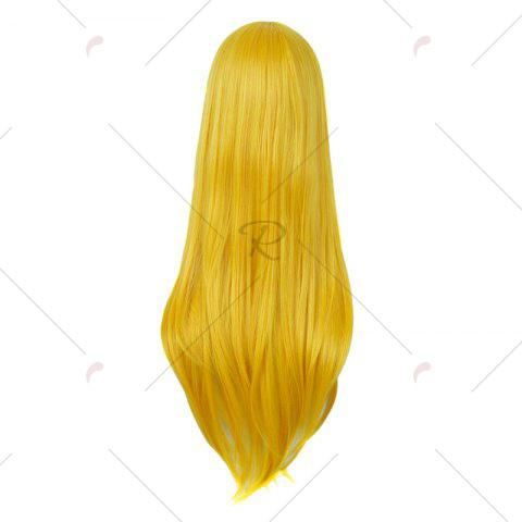 Buy Long Side Bang Straight My Little Pony Lily Cosplay Anime Wig - YELLOW  Mobile