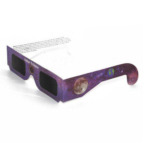 Fashion Solar Eclipse Shades UV Protection Glasses