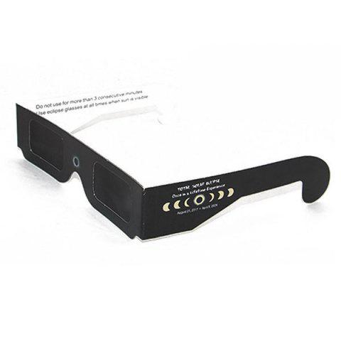 Sale Solar Eclipse Shades UV Protection Glasses - FULL BLACK  Mobile