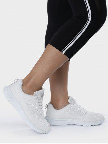 Best Breathable Eyelet Embroidery Athletic Shoes
