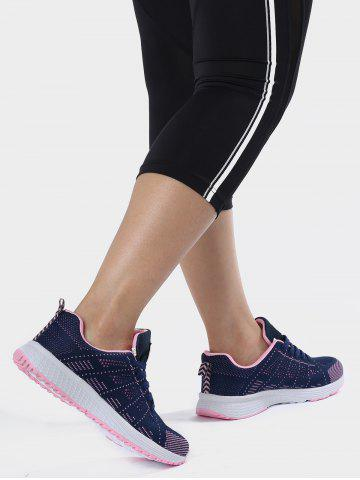 Sale Breathable Eyelet Embroidery Athletic Shoes