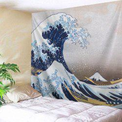 Surge Beach Throw Fabric Wall Hanging Tapestry