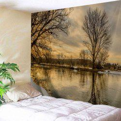 Sunset Scenery Wall Art Tapestry Outdoor Blanket