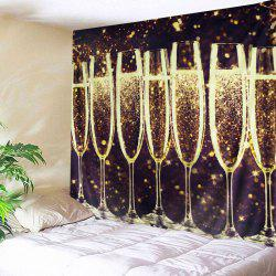 Sparkly Goblet Print Tapestry Wall Hanging Art Decoration