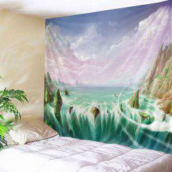 Mountains River Print Tapestry Wall Hanging Art Decoration