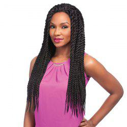 Long Senegal Twists Braids Lace Front Synthetic Wig