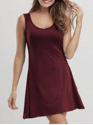 Flare Mini Casual Tank Dress