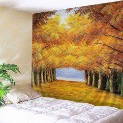 Forest Tree Print Tapestry Wall Hanging Art Decoration