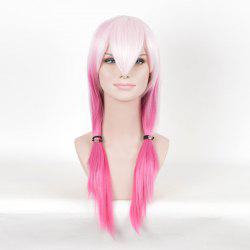 Long Colormix Straight Anime Guilty Crown Inori Yuzuriha Cosplay Wig