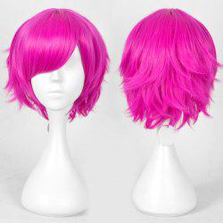 Short Layered Straight Anime Heart No kuni No Alice Boris Cosplay Wig