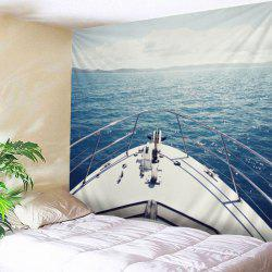 Ocean Yacht Print Tapestry Wall Hanging Art Decoration