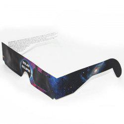 Solar Eclipse Shades UV Protection Glasses - STARRY SKY PATTERN