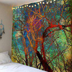 Home Decor Colorful Branch Wall Hanging Tapestry