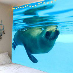 Ocean Seal Wall Art Tapestry -
