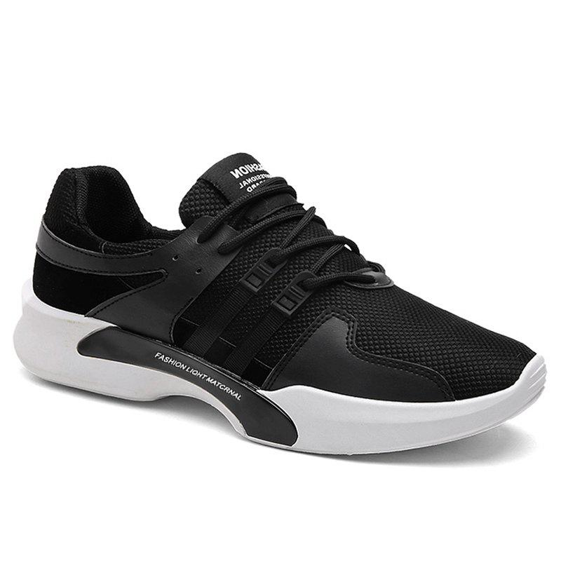 Shop Breathable Mesh Suede Insert Athletic Shoes