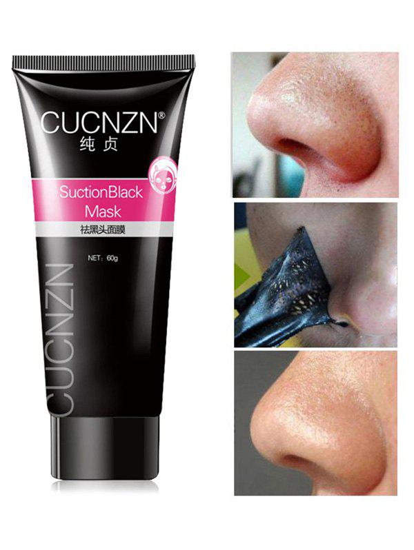 CUCNZN Peel-Off Pore Cleanser Black Head MaskBEAUTY<br><br>Color: BLACK; Gender: For Unisex; Item Type: T Zone Care; Feature: Acne Treatment,Oil-control; Use: Face; Product weight: 0.1000 kg; Package weight: 0.1000 kg; Product size (L x W x H): 1.00 x 1.00 x 1.00 cm / 0.39 x 0.39 x 0.39 inches; Package size (L x W x H): 1.00 x 1.00 x 1.00 cm / 0.39 x 0.39 x 0.39 inches; Package Content: 1 x Mask;