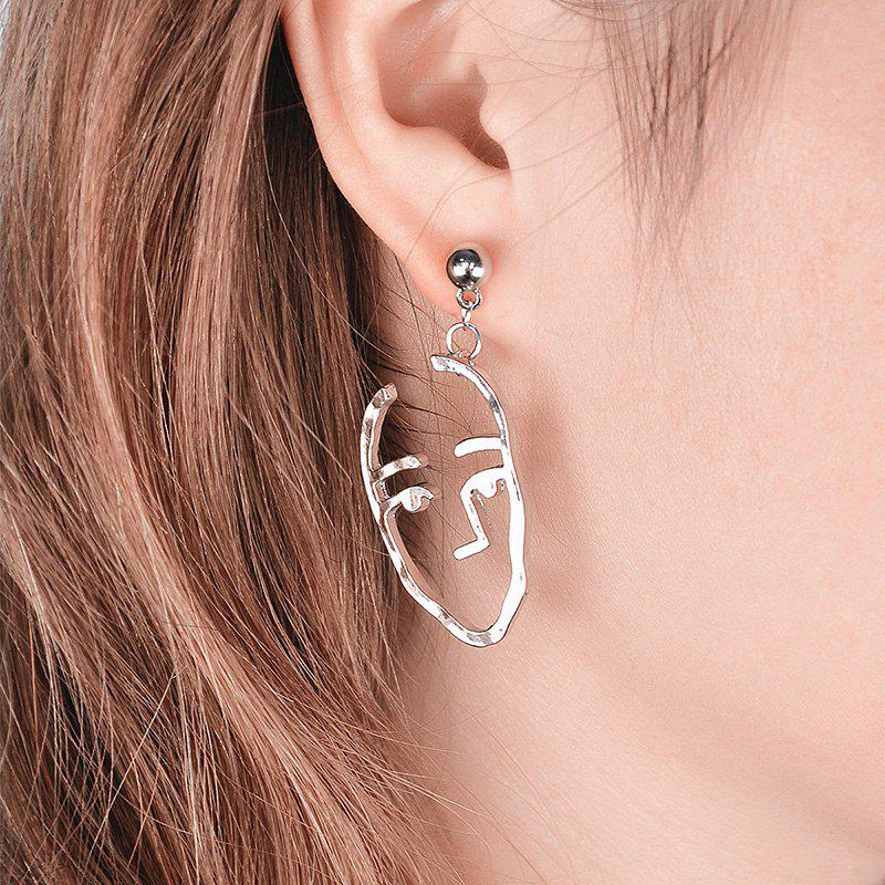 Best Funny Alloy Face Drop Earrings