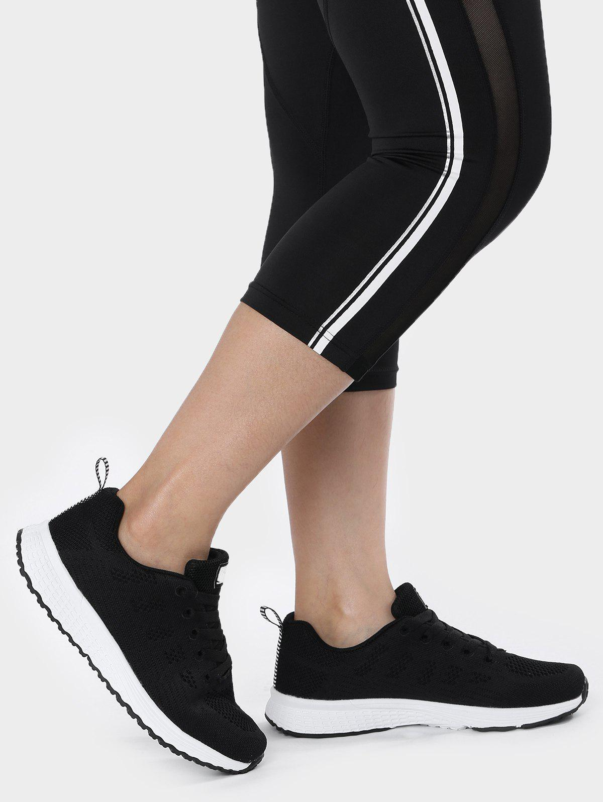 Affordable Breathable Eyelet Embroidery Athletic Shoes