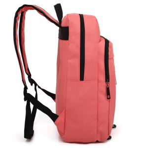 Padded Strap Nylon Backpack - PINK