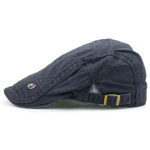 Label Adjustable Ivy Hat - Stone Blue