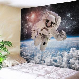 Galaxy Astronaut Print Tapestry Wall Hanging Art Decoration