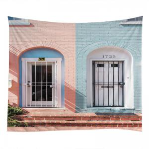 House Door Print Tapestry Wall Hanging Art Décoration -