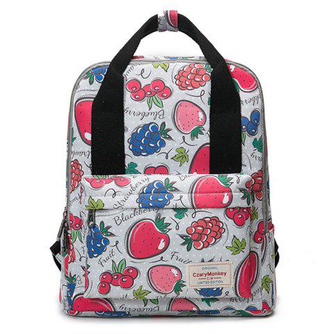 Online Nylon Printed Backpack