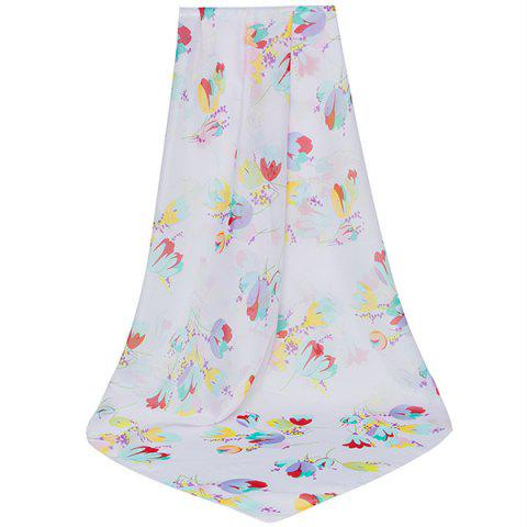 Outfits Lightsome Vintage Flowers Printing Shawl Scarf
