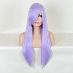 Long Inclined Bang Straight Saint Seiya Athena Cosplay Anime Wig