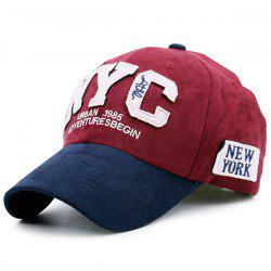 NYC Shape Color Block Baseball Hat