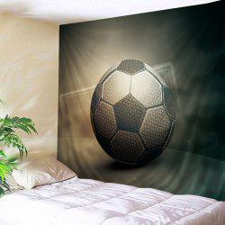 Soccer Print Tapestry Wall Hanging Art Decoration