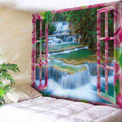 Outside The Window Print Tapestry Wall Hanging