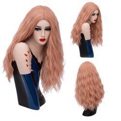 Long Middle Part Shaggy Natural Wave Synthetic Wig