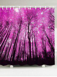 Grove Printed Waterproof Shower Curtain