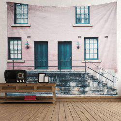 Vintage House Print Tapestry Wall Hanging Art Decoration