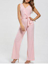 Cutout Wide Leg Jumpsuit